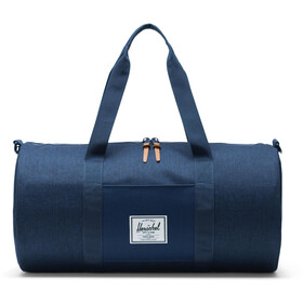 Herschel Sutton Mid-Volume Duffle, medieval blue crosshatch/medieval blue